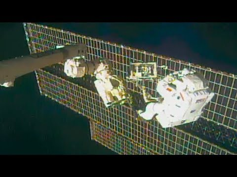 A Very Complex Spacewalk Outside the Space Station on This Week @NASA – November 15, 2019